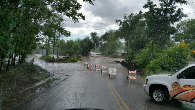 The Yavapai County Sheriff's Office orders mandatory evacuations after flooding in Mayer