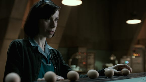 Sally Hawkins in 'The Shape of Water,' which has been nominated for 13 Oscars.