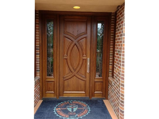 The front door to the FAMU President's house