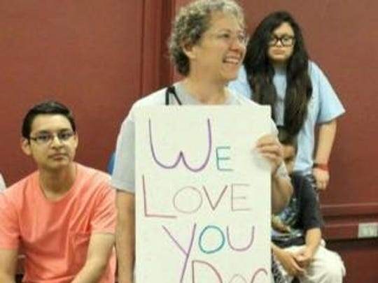 Retired Tempe High School teacher Eileen Yellin was