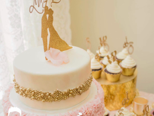 Jeremy Davis said wedding cakes are a huge part of