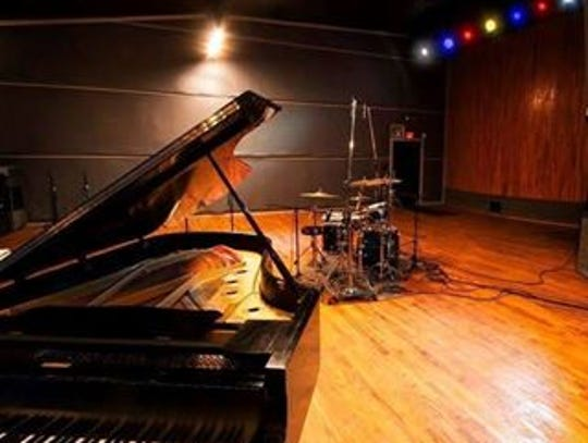 The interior of Pearl Sound Studios is much more appealing