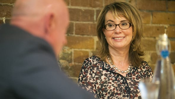 A letter from former congresswoman Gabrielle Giffords
