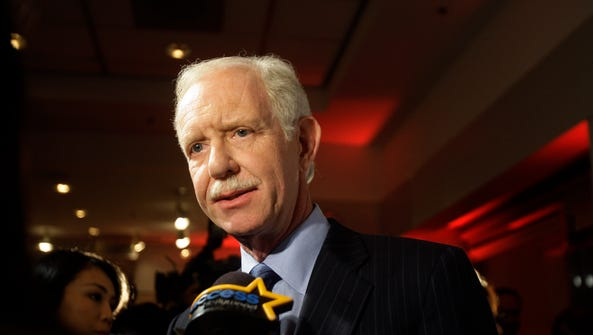 Pilot Sully Sullenberger in New York in 2010.