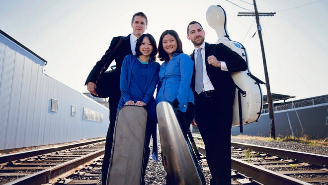 """After it's Salem debut in 2015, The Delgani String Quartet returns with a four-concert season, titled """"Astonished by Music,"""" featuring tunes from treasured classics to new commissions."""