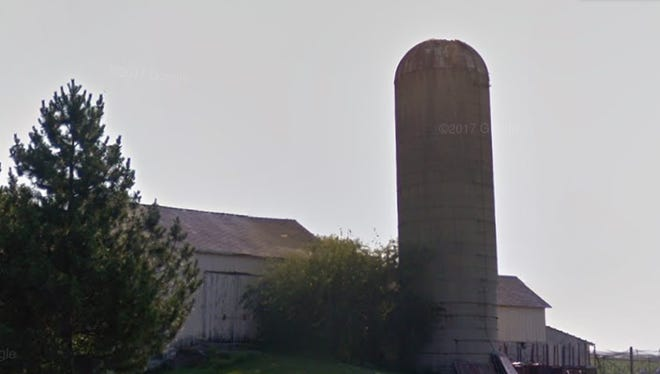 This silo, located off Wern Way between Snowdon Drive and Boettcher Road in the town of Genesee, caught fire early June 6.