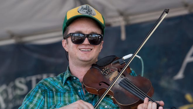 """Fiddler Louis Michot is among the musicians playing for Bayou Teche Brewing's """"Fais Do-Do"""" Friday."""