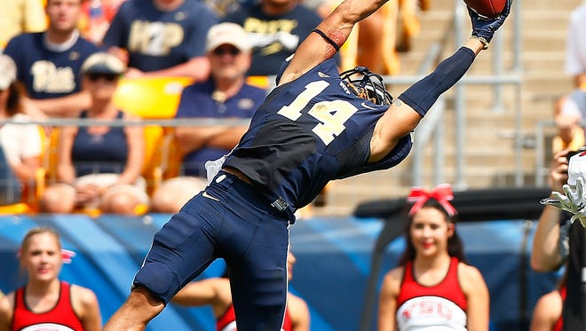 Former Detroit King High standout and University of Pittsburgh cornerback Avonte Maddox was selected in the fourth round (125th overall) by the Philadelphia Eagles.