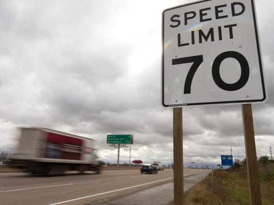The scheduled speed limit increase on Highway 16 from 65 mph to 70 has been put on hold for the moment.