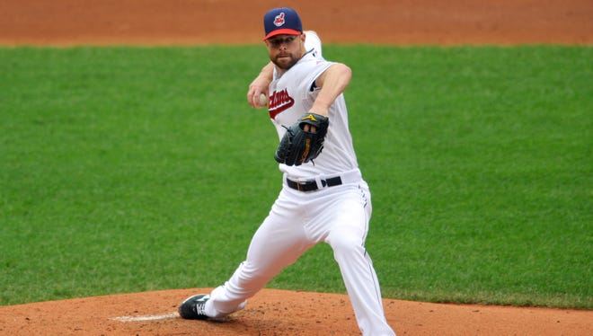 Indians right-hander Corey Kluber is an example of a pitcher who had an elite skill year in 2013, posting an 8.3 K/9 rate and a 4.1 K/BB ratio.