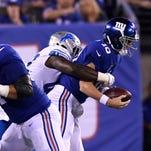 Sullivan: McAdoo's shots at Manning hit harder than sacks, may hurt more