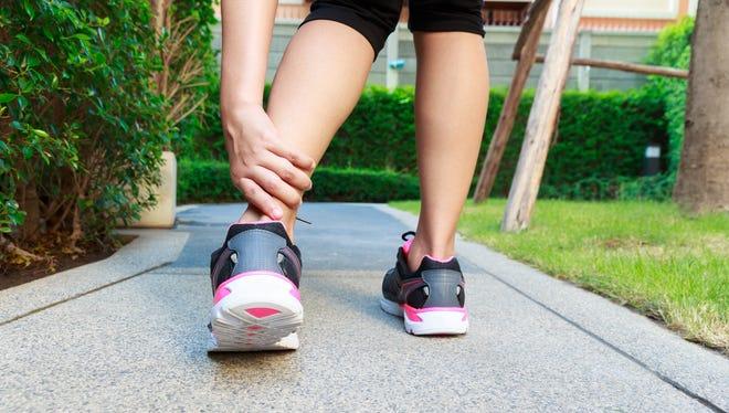 How to treat a sprain