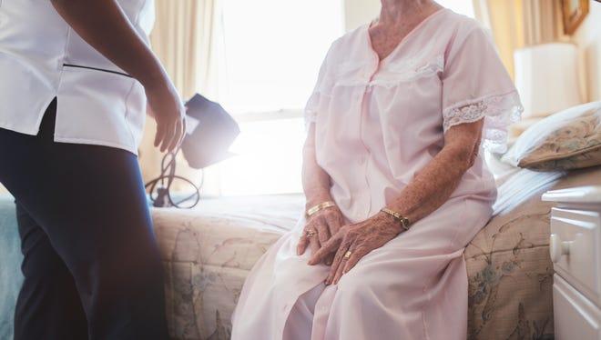 Senior patient.