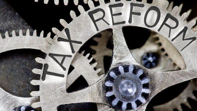Tax reform.