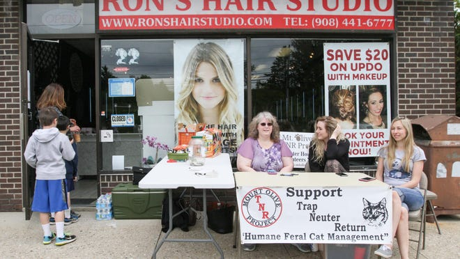 A Hair Cut-a-thon is held to benefit the Mount Olive TNR Project at Ron's Hair Studio in Budd Lake on Sunday.
