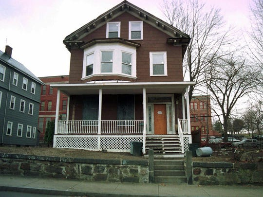 This March 10, 1998, file photo shows the house where slain African-American leader Malcolm X spent part of his childhood, in the Roxbury section of Boston.