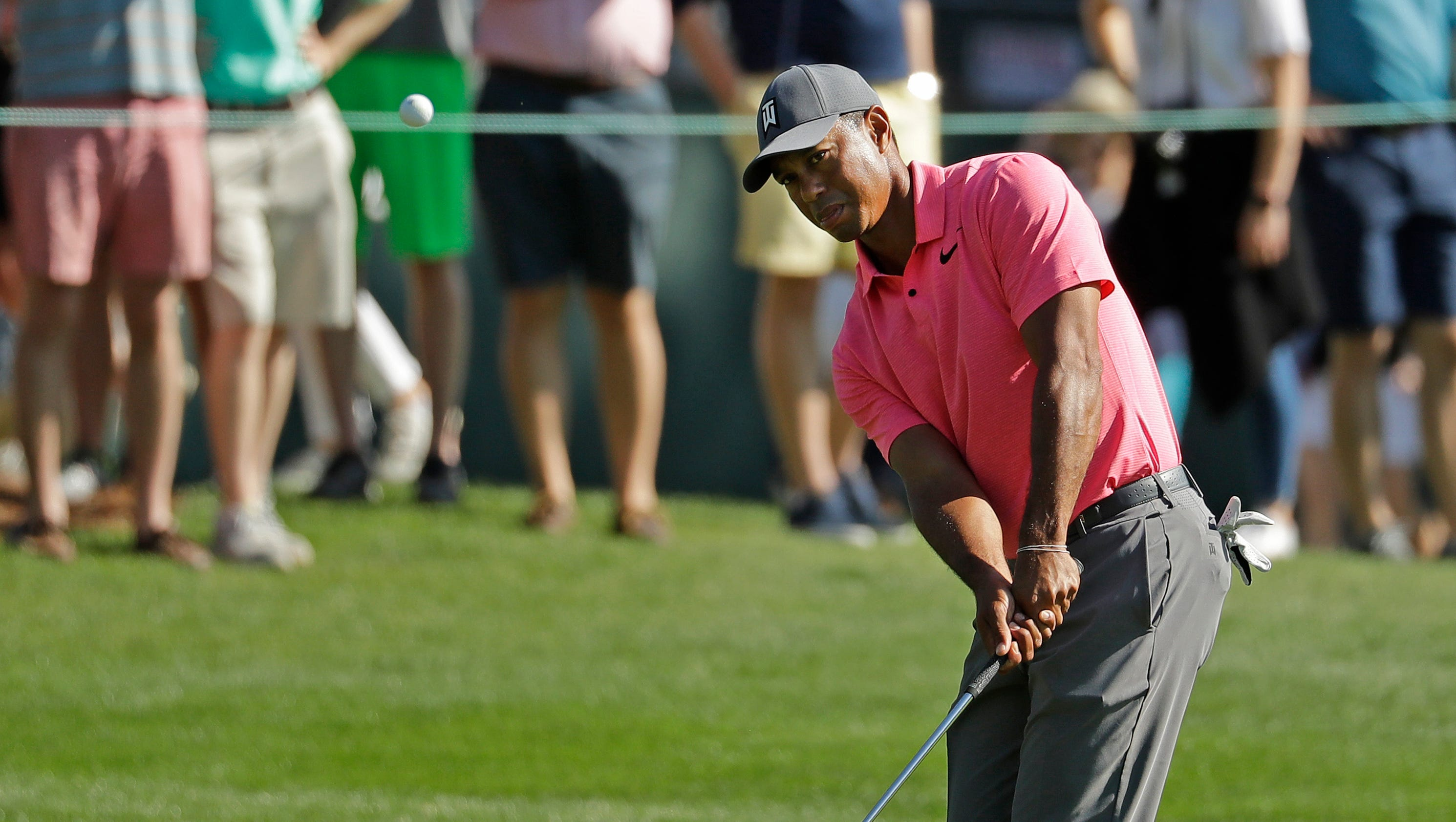 tiger woods returns to pga tour  new irons in hand