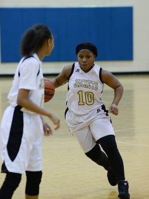 The Springfield Middle School Lady Yellow Jackets fell to Macon County in the TNT tournament championship game Saturday.