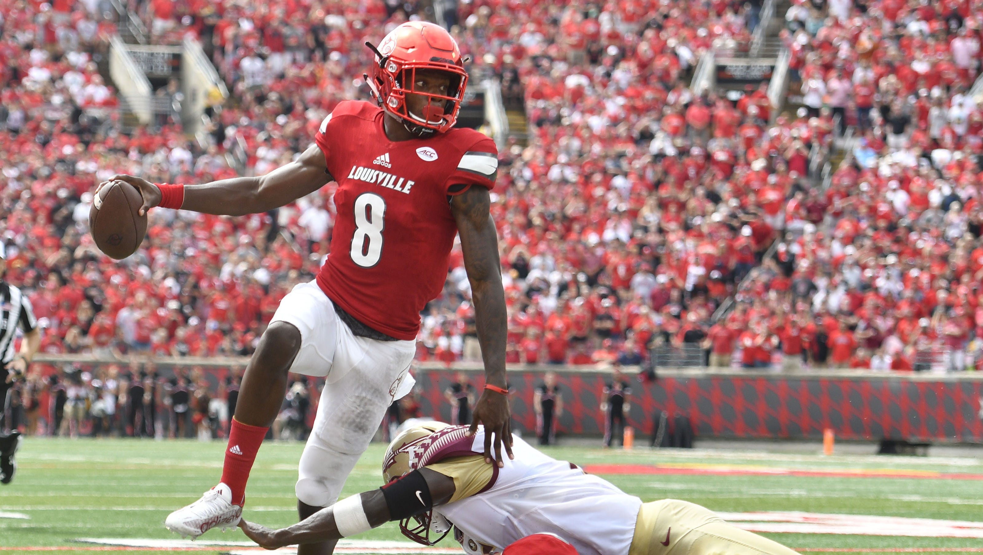 No 10 Louisville Beats Up No 2 Florida State 63 20