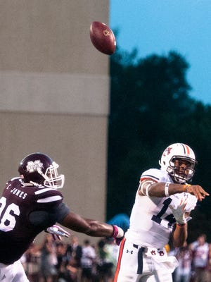 All three of Nick Marshall's interceptions this season have come on first downs.