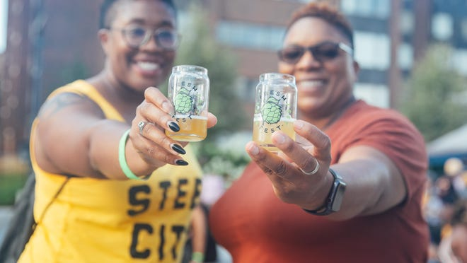 "When launched in 2018, Fresh Fest's target demographic was Black women.  ""We feel that they're the least heard in America, and in the craft beer industry,"" said Day Bracey, co-founder of Fresh Fest, the nation's first beer festival focused on Black-owned breweries. [Fresh Fest}"