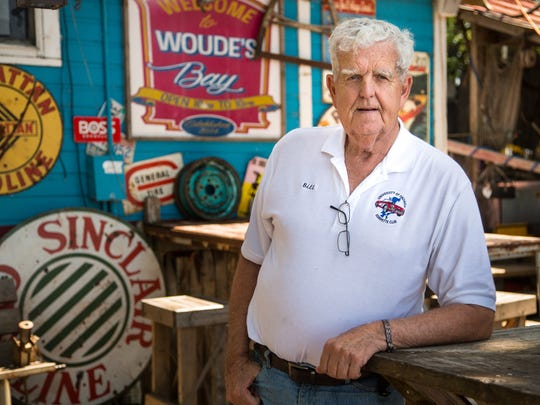 Orleans Mayor Bill Maas stands for a portrait at Woude's Bay on East Okoboji Lake Wednesday, June 14, 2017.