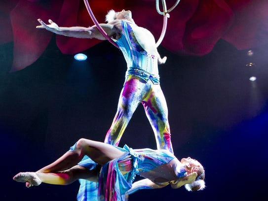 Cirque Dreams Holidaze will be at the Fox Theatre on