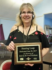 Donna Glover,Afton Sertoma's president-elect and Binghamton's