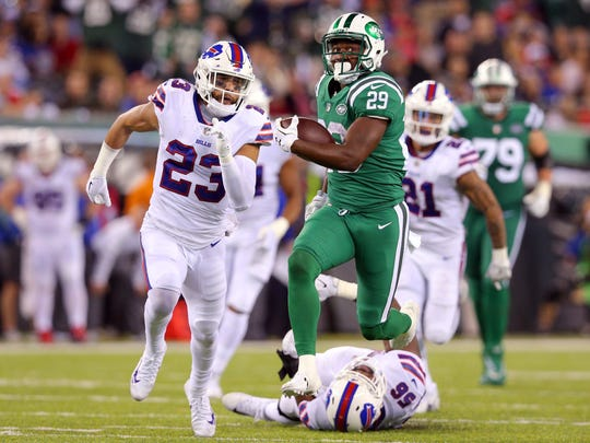 The Bills had a rough night tackling against the Jets, especially on this long run by Bilal Powell.