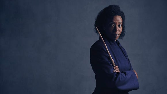 Noma Dumezweni plays Hermione in the staged production