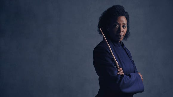 Noma Dumezweni plays Hermione in the staged production of 'Harry Potter and the Cursed Child.'