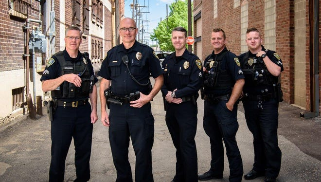 The newly formed Directed Enforcement Team (DET) of the Great Falls Police Department.