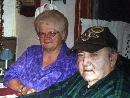 Barbara and Frank Johnson were married in 2006.