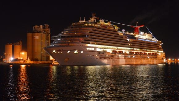Carnival Magic comes into Port Canaveral late Tuesday