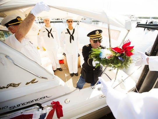 KINFAY MOROTI/THE NEWS-PRESS… A Wreaths Across America