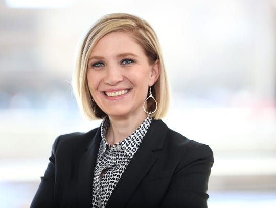 Erica Beck was named chief of staff for Mayor Paul