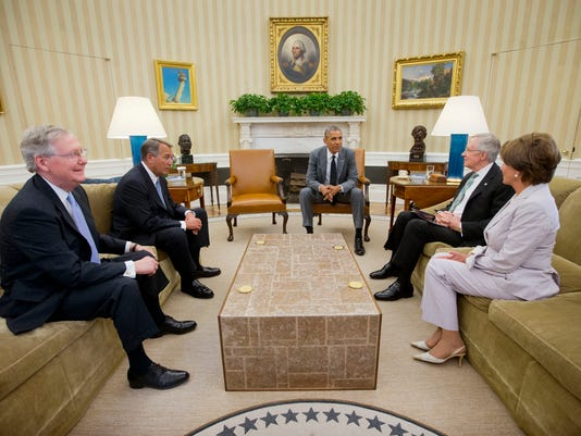 Obama meets with lawmakers on Iraq response options