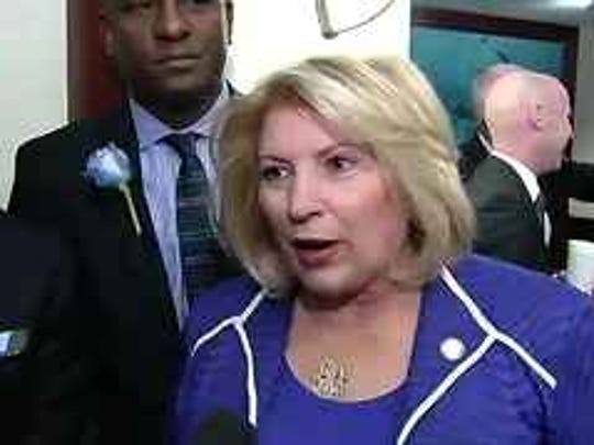 House Democratic Leader Janet Cruz of Tampa