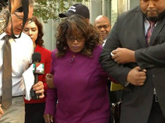 Tearful Corrine Brown asks court for mercy, compassion