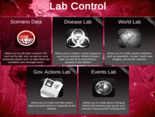 "A scene from ""Plague, Inc.: Creator"""