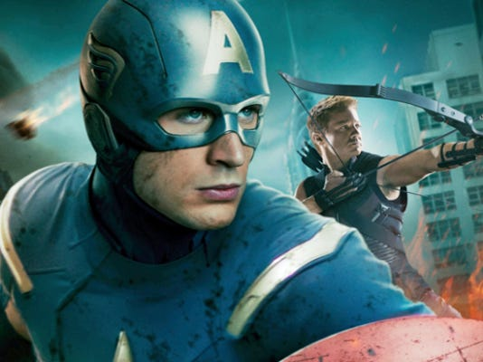 Marvel's Captain America will be one of the topics during a discussion of superhero ethics at York College.