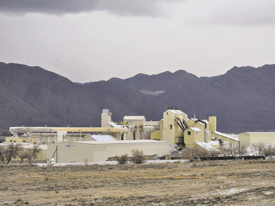 The USG Corp. plant in Empire is seen just before closure in December 2010.
