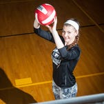 After being a leader on the court for James M. Bennett during her high school career, Teaghan Vogelsong will be heading to Harcum College in the fall to continue playing volleyball and further her education.