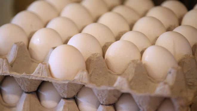 Egg prices are rising and could affect area restaurants.