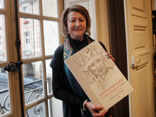 Art historian and Van Gogh specialist Bogomila Welsh-Ovcharov