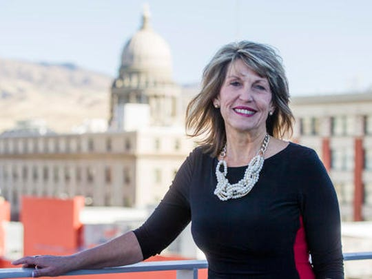 "Melinda Smyser, one of Idaho's four presidential electors, poses for a portrait in Boise, Idaho, Thursday, Nov. 17, 2016. Grassroots campaigns around the country are trying to persuade members of the Electoral College to vote against Donald Trump and deny him the 270 votes he needs to assume the presidency.  Smyser, one of Idaho's four Republican electors, said they have been flooded with emails, telephone calls and Facebook messages from strangers urging them to reconsider their vote.  ""It's just not going to work,"" Bangerter"