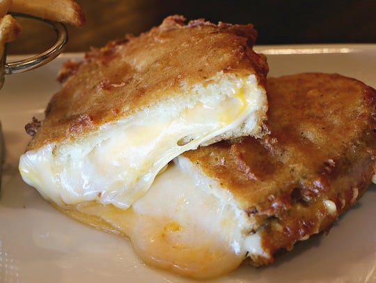 The Shannon Rose Irish Pub's Murdered Grilled Cheese