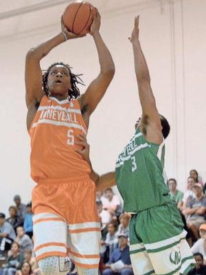 Deyonta Davis played in the Moneyball Pro-Am League this summer and could see plenty of minutes for the Spartans this season.