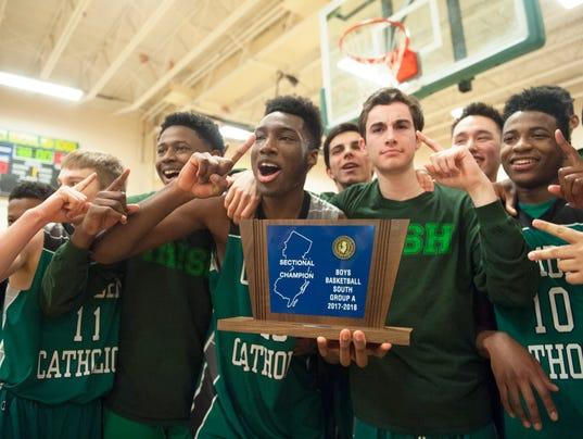 Camden Catholic boys basketball