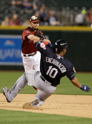 Mar 30, 2017: Arizona Diamondbacks shortstop Chris